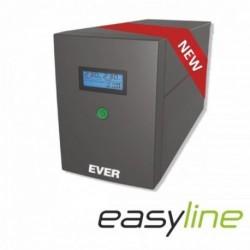 Zasilacz awaryjny UPS Ever L-INT EASYLINE 1200 AVR 2xSCH USB RJ-11 LCD Bl