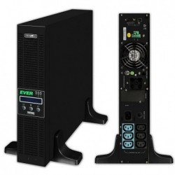 Zasilacz awaryjny UPS Ever ON-L Powerline RT 1000VA VFI 6xIEC Sin USB RS LCD