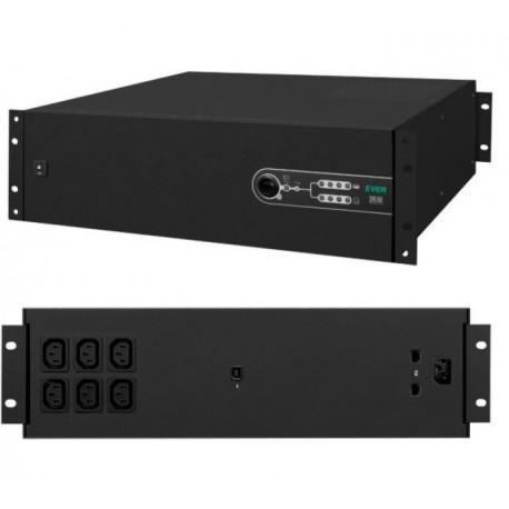 Zasilacz awaryjny UPS Ever L-INT Sinline 1200VA AVR 6xIEC Sin USB LAN 2U