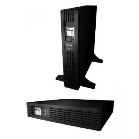 Zasilacz awaryjny UPS Ever L-INT Sinline RT 1200VA AVR 3xIEC 2xPL Sin USB LAN rack/tower