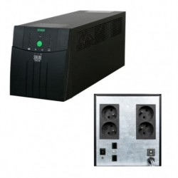 Zasilacz awaryjny UPS Ever L-INT Sinline 800VA AVR 4xSCH Sin USB LED LAN