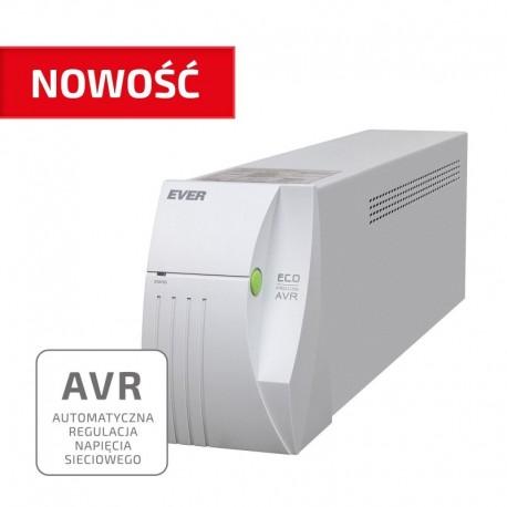 Zasilacz awaryjny UPS EVER ECO Pro 1200 AVR CDS sinus 2 gniazda PL USB