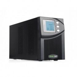 Zasilacz Awaryjny UPS Green Cell On-line MPII Podwójna Konwersja LCD 1000VA 900W