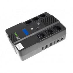 Zasilacz Awaryjny UPS Green Cell Line-Interactive AiO LCD 800VA 480W