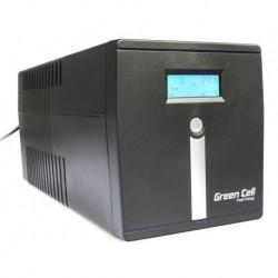 Zasilacz Awaryjny UPS Green Cell Line-Interactive MicropowerLCD 1000VA 600W