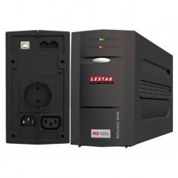 Zasilacz awaryjny UPS Lestar MD-525s L-INT 300W AVR 1xSCH 1xIEC USB RJ LED BL