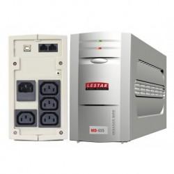 Zasilacz awaryjny UPS Lestar MD-655 L-INT 375W AVR 3+1xIEC USB RJ LED GR