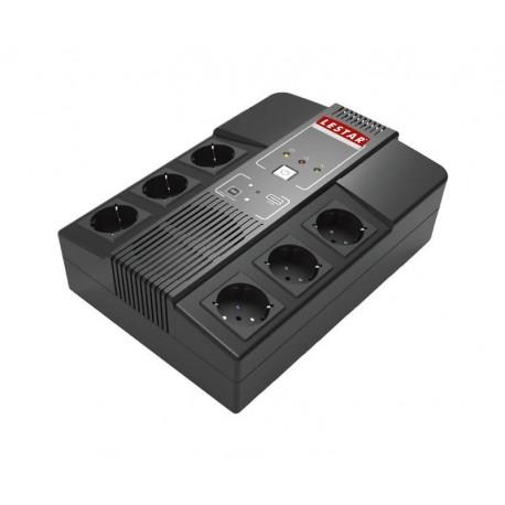 Zasilacz Awaryjny UPS Lestar AiO-650s L-INT AVR 6xSCH USB RJ-45