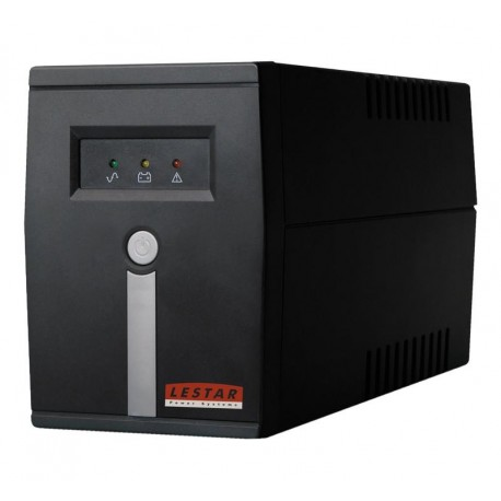 Zasilacz awaryjny UPS Lestar MC-655ff L-INT AVR 2xFR 600VA/360W BLACK