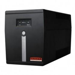 Zasilacz awaryjny UPS Lestar MC-1500U L-INT AVR 6xIEC 1500VA/900W USB BLACK