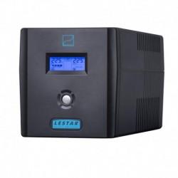 Zasilacz awaryjny UPS Lestar SIN-1550x L-INT AVR LCD Sinus 6xIEC USB RJ BLACK