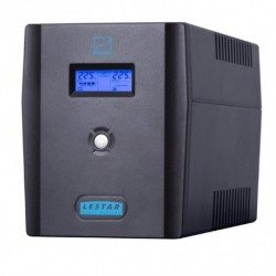 Zasilacz awaryjny UPS Lestar SIN-2050x L-INT AVR LCD Sinus 6xIEC USB RJ BLACK