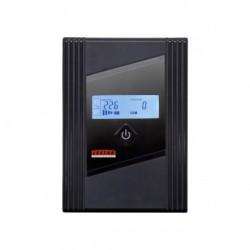 Zasilacz awaryjny UPS Lestar Z- 455s L-INT AVR LCD 1XIEC+1SCH 450VA/270W USB BLACK