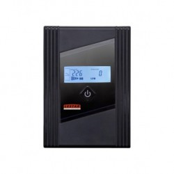 Zasilacz awaryjny UPS Lestar Z- 655s L-INT AVR LCD 1xIEC+1xSCH 650VA/380W USB BLACK