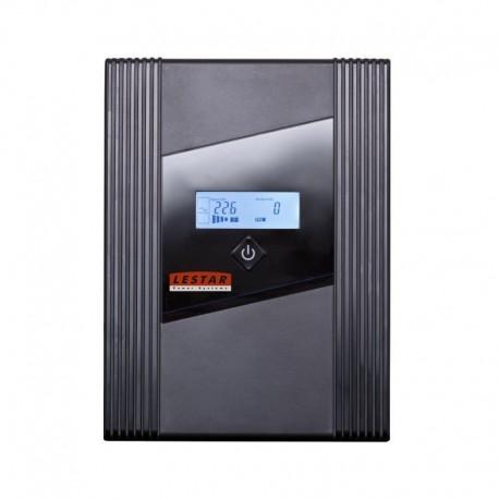 Zasilacz awaryjny UPS Lestar Z-2050s L-INT 2000VA/1200W AVR 3xIEC+2xSCH USB RJ LCD BL