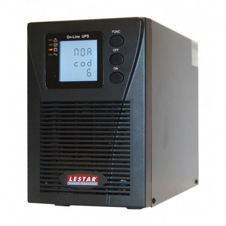 Zasilacz Awaryjny UPS Lestar MEP II - 1000P 1000VA/900W ONLINE LCD 3XIEC