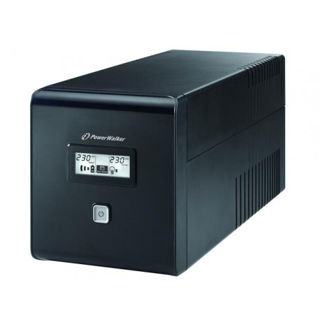 Zasilacz awaryjny UPS POWER WALKER LINE-IN 1000VA 2xPL + 2xIEC RJ/USB LCD