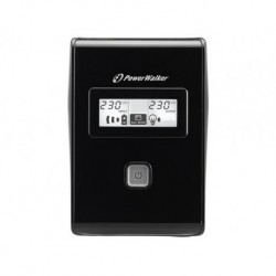 Zasilacz awaryjny UPS POWER WALKER LINE-IN 850VA 2xPL RJ/USB LCD