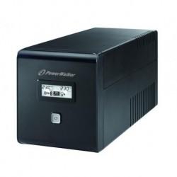 Zasilacz awaryjny UPS POWER WALKER LINE-I 1000VA 2xSCHUKO+2xIEC RJ USB LCD