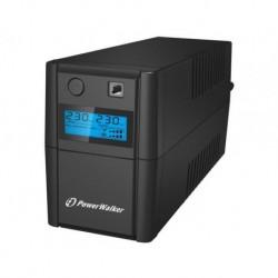 Zasilacz awaryjny UPS POWER WALKER LINE-INTERACTIVE 850VA 2X 230V PL OUT, RJ11
