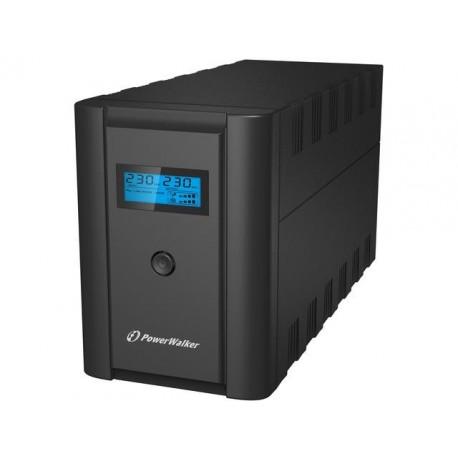 ZASILACZ UPS POWER WALKER LINE-INTERACTIVE 2200VA 2X 230V PL + 2X IEC