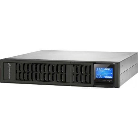 """Zasilacz awaryjny UPS Power Walker On-Line 3000VA, USB, RS-232, LCD, 19"""""""