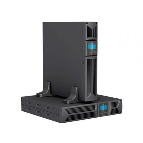 """Zasilacz awaryjny UPS POWER WALKER LINE-I 3000VA 8xIEC RJ/USB/RS LCD 19"""" 2U"""
