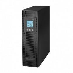 Zasilacz awaryjny UPS Qoltec RACK | On-line | Pure sinus | 3KVA | 2400W LCD