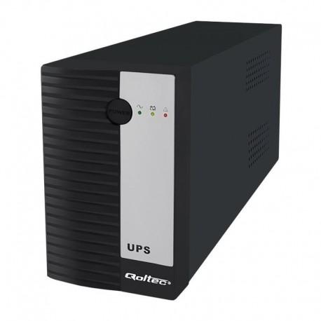 Zasilacz awaryjny UPS Qoltec 600VA | 360W