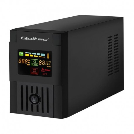Zasilacz awaryjny UPS Qoltec MONOLITH 2000VA | 1200W | LCD