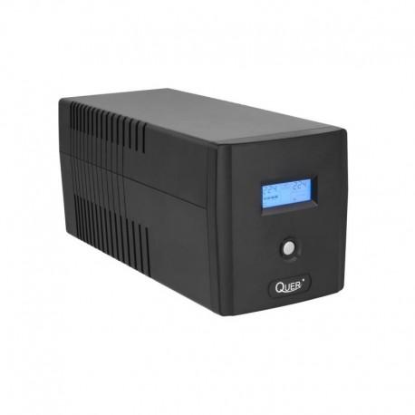 Zasilacz Awaryjny UPS Quer Microsine 1000 (offline, 1000VA / 600W, 230 V, 50Hz)