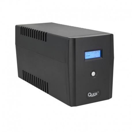 Zasilacz Awaryjny UPS Quer Microsine 1500 (offline, 1500VA / 900W, 230 V, 50Hz)