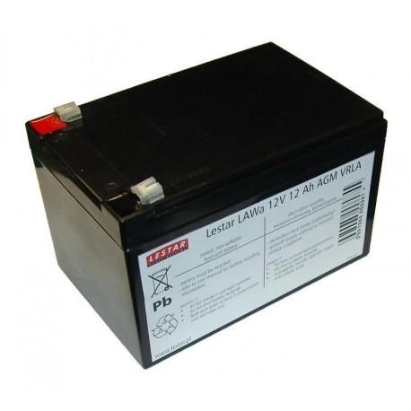 Akumulator żelowy wymienny Lestar LAWa 12V 12 Ah AGM VRLA