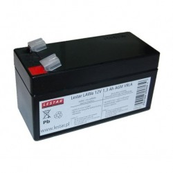 Akumulator żelowy wymienny Lestar LAWa 12V 1,3Ah AGM VRLA