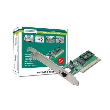 Karta sieciowa DIGITUS  PCI 10/100Mbps Chipset Realtek