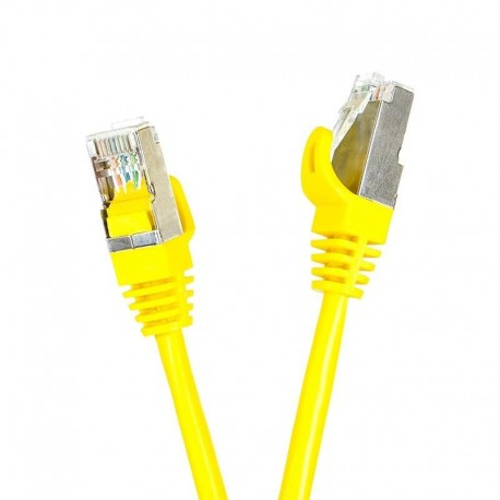 Patchcord FTP cat.5e 1m START.LAN żółty