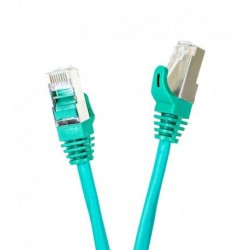 Patchcord FTP cat.5e 15m START.LAN zielony