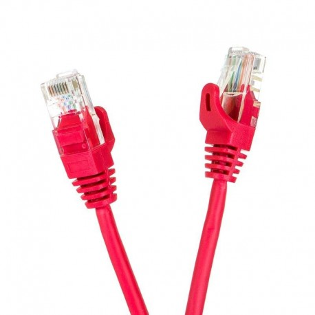 Patchcord UTP cat.5e 15m START.LAN czerwony