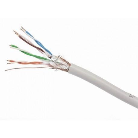 Kabel SFTP Gembird SPC-5004E-SOL/100 kat-5E 100m drut AL-CU