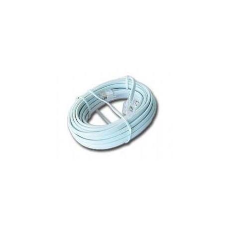 Kabel telefoniczny Gembird TC6P4C z końcówkami RJ-11 6P4C 2m 4-żyły