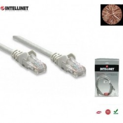 Patch Cord 100% miedź Intellinet Cat.6a UTP, 2m, szary ICOC U6AG-020