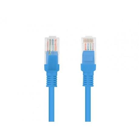 Patch cord Lanberg FTP kat.5e 0,5m niebieski