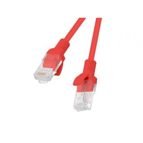 Patch cord Lanberg UTP kat.5e 1,5m czerwony