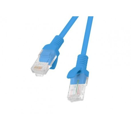 Patch cord Lanberg UTP kat.6 15m niebieski
