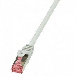 Patchcord LogiLink CQ2022S CAT.6 S/FTP 0,50m, szary