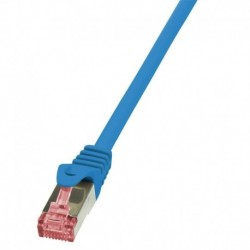 Patchcord LogiLink CQ2036S CAT.6 S/FTP 1m, niebieski