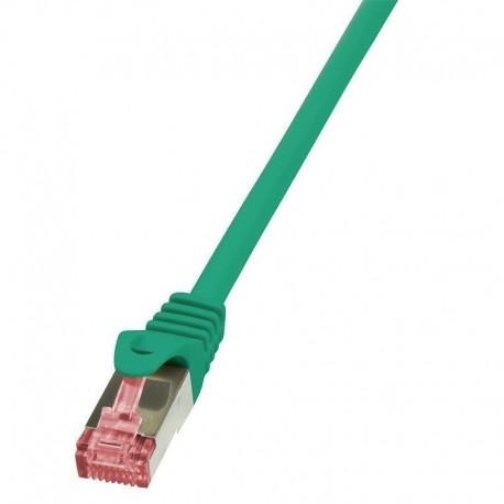 Patchcord LogiLink CQ2065S CAT.6 S/FTP 3m, zielony