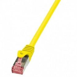 Patchcord LogiLink CQ2067S CAT.6 S/FTP 3m, żółty