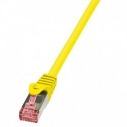 Patchcord LogiLink CQ2097S CAT.6 S/FTP 10m, żółty