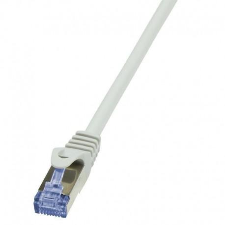 Patchcord LogiLink CQ3032S Cat.6A S/FTP 1m szary